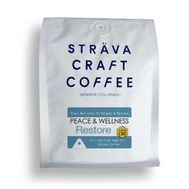 Strava Craft Coffee CBD Coffee - Restore 120mg 12oz by Strava Craft Coffee
