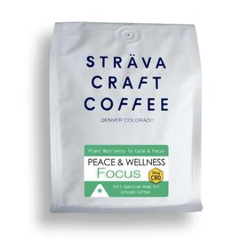 Strava Craft Coffee CBD Coffee - Focus 30mg 12oz by Strava Craft Coffee