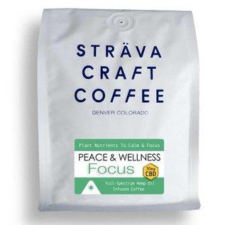 Strava Craft Coffee CBD Coffee - Focus 30mg 12oz by Strava Craft Coffee
