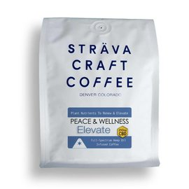 Strava Craft Coffee CBD Coffee - Elevate 240mg 12oz by Strava Craft Coffee