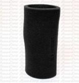 """Black Foam Pre Filter 3-1/2"""" X 8"""" Long"""
