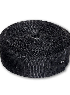 Longacre Exhaust Pipe Wrap, 1 ft, Black