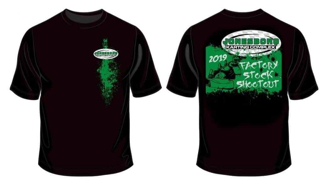 2019 Factory Stock Shootout Shirt (Adult Xtra Large)