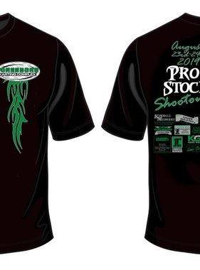 (preorder) 2019 Pro Stock Shootout Shirt Adult Large