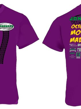 (preorder) 2019 Pro Mod Madness Shirt Adult Med Purple