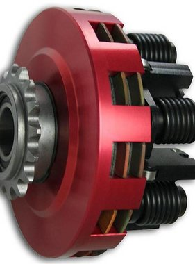 SMC SMC Vortex Red Clutches - #35 Chain 17T #35 Two