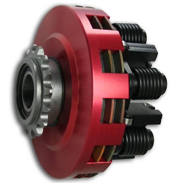 SMC SMC Vortex Red Clutches - #35 Chain 17T #35 Two