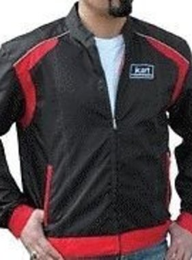 Kart Kart Adult Racing Jacket - Red/Black