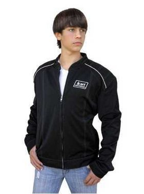 Kart Adult Premium Kart Racing Jacket - Black