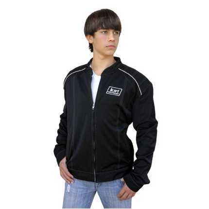 Kart Adult Premium Kart Racing Jacket - Black