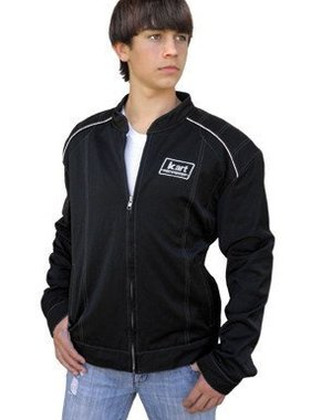 Kart Youth Premium Racing Jacket - Black