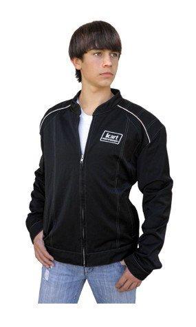 Kart Youth Premium Racing Jacket - Black