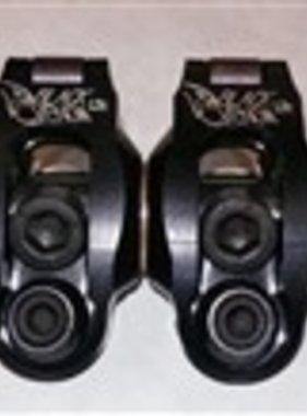 Gage (1.3 Ratio, GX200, Clone, or Predator Non-Hemi) Gage Black Venom Roller Rockers