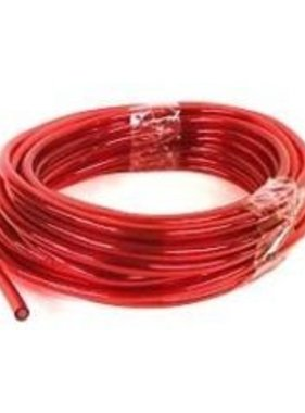 "1' RED FUEL LINE 1/4"" ID X 7/16"" OD single"
