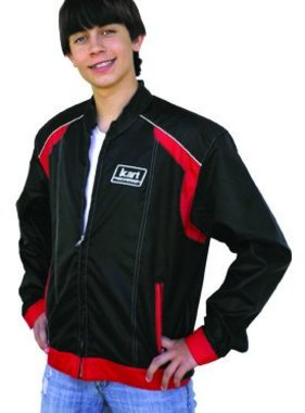 Kart Kart Youth Racing Jacket - Red/Black