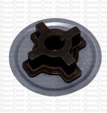 Hilliard INFERNO 3/4 HEAT TREATED HUB WITH GUARD