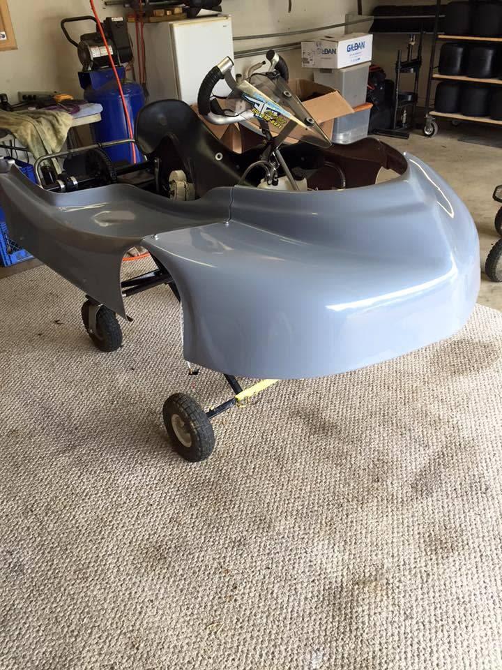 Rapid Body Works Grey Fiberglass Body By Rapid Body Works