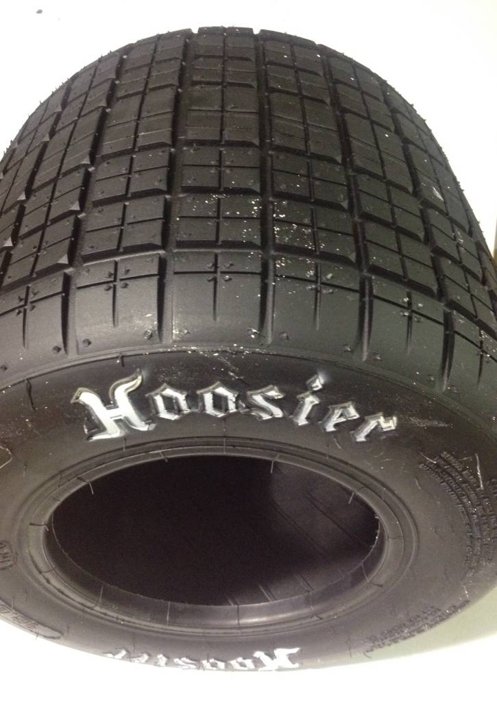Hoosier Hoosier Grooved Tires 12 X 8.0-6 10A