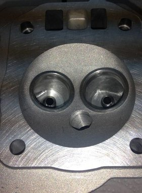 Mars Blueprinted non-Hemi Head For Pro Mod Assembeled