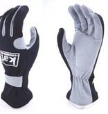Kart Childs Large Glove 200 Series Gray and Black