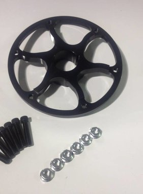 "1-1/4"" Ultralight Sprocket Hub (Black)"