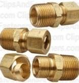 "3/16"" Brass Connector Assembly (Single Assembly)"