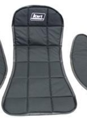 BLACK SEAT PAD SET (3 pc)
