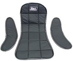 BLACK SEAT PAD SET (3 pc)