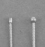 """72"""" INNER CABLE BALL END THROTTLE CABLE"""
