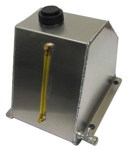 "Lucky 7 Fuel Tank (Alum) 5QT (9"" X 6"" X 7-3/4"")"