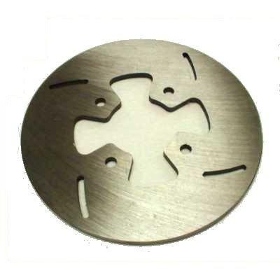"MCP Brakes 3/16"" Brake Rotor STEEL SLOT DISC 7-1/8"