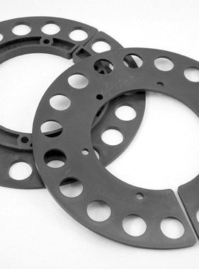 "9"" 2PCS. PLASTIC GEAR GUARD"