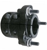 "Premier Manufacturing Rear Wheel Extended Hub Kit 1-1/4"" axle (Black)"