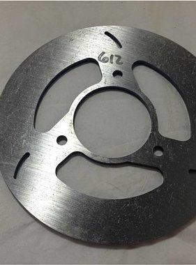"MCP Brakes 3/16"" X 6"" Minilite Brake Rotor Disc Slot"