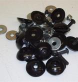 Black (16) Body Fastener Kit