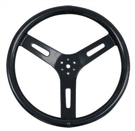 "14"" Aluminum Steering Wheel (Black)"
