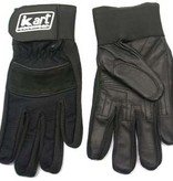 Kart Youth Large Premium Gloves (Black)