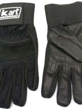 Kart Youth Large Premium Gloves (Black)