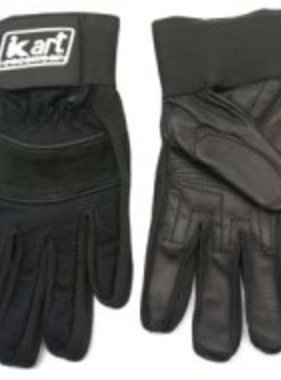 Kart Adult Large Premium Gloves (Black)