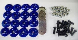 Blue (16) Body Fastener Kit