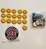 Yellow (16) Body Fastener Kit