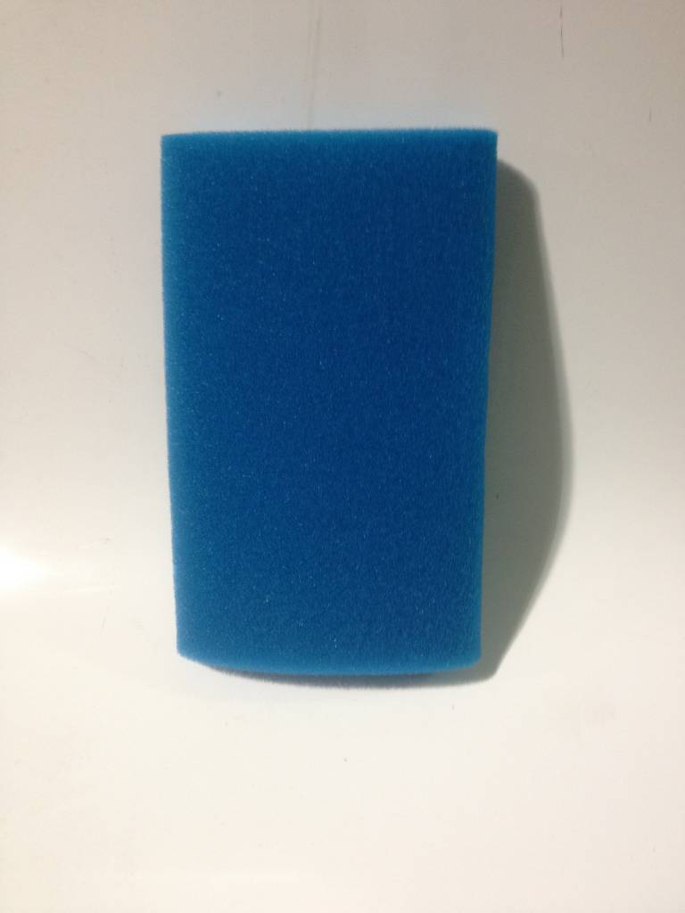 "Blue Foam Pre Filter 3-1/2"" X 8"" Long"
