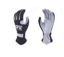 Kart Youth Small 200 Series Gloves (Black & Gray)