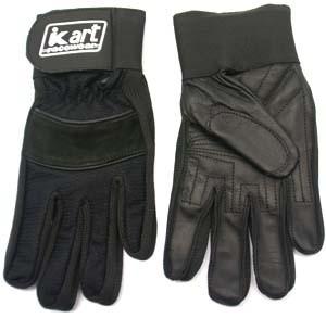 Kart Youth Small Premium Gloves (Black)