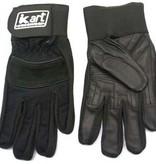 Kart Adult Small Premium Gloves (Black)