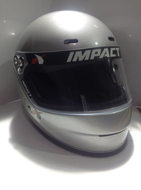 Impact Adult Medium (Silver) 1320 Impact Helmet