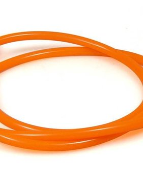 "1' Orange Fuel Line 1/4"" ID single"