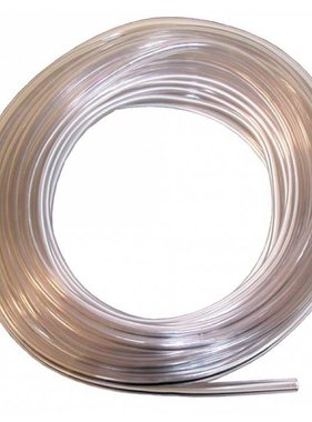 "1' Clear Thin Fuel Line 1/4"" ID single"