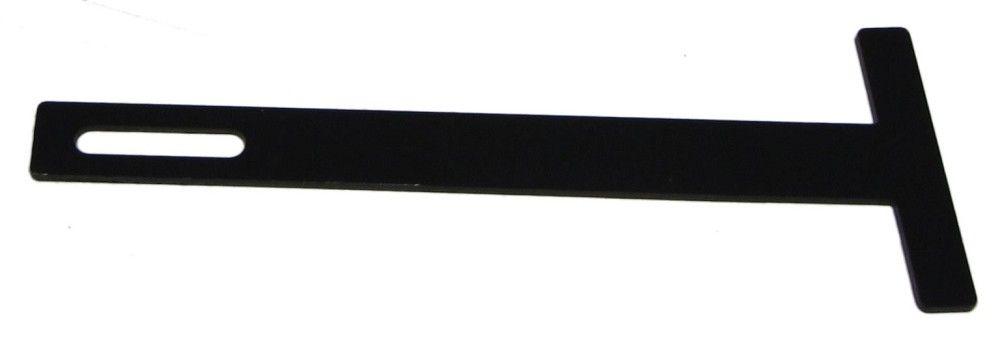WMS Header Brace (Aluminum Black) WMS