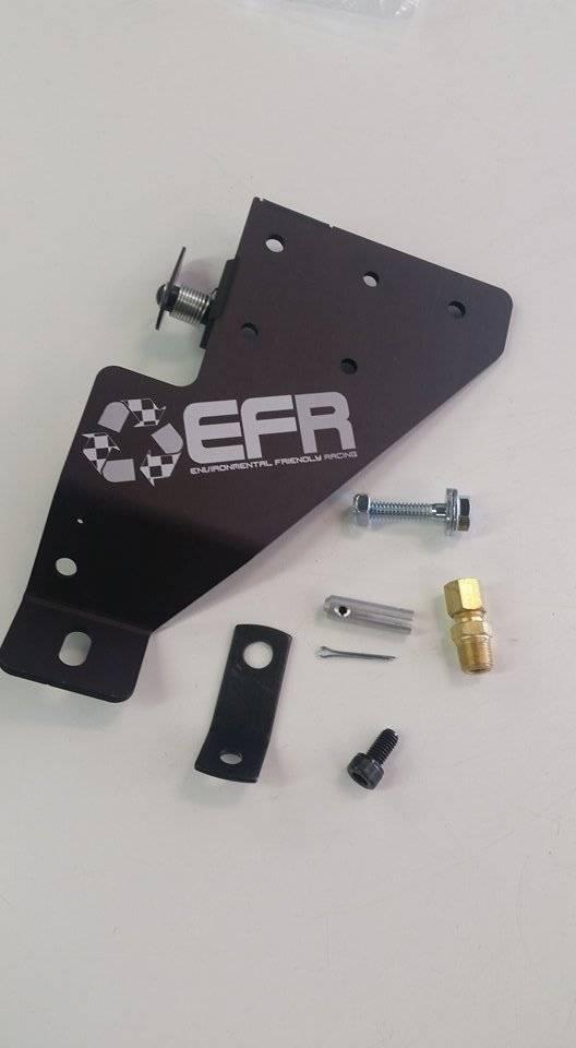 """EFR JKC """"Half Style"""" Top Plate (Black) JKC Logo"""
